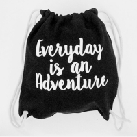 Typography Sling Bag